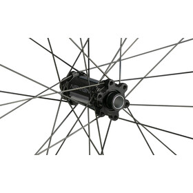 """NEWMEN Evolution SL A35 Rueda Delantera 27,5"""" 15x100 Straight Pull 6Tornillos Gen2, negro/gris"""